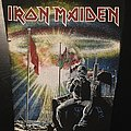 Iron Maiden - Patch - Iron Maiden -  2 Minutes to Midnight - Bootleg Back Patch