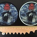 Dark Fortress - Patch - Dark Fortress - Profane Genocidal Creations patches (Red glitter logo)