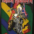 Iron Maiden - Patch - Iron Maiden - Maiden England - Vintage Back Patch 1989 (nr. 2)