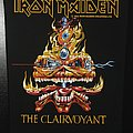 Iron Maiden - The Clairvoyant - Vintage Back Patch 1988