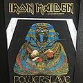 Iron Maiden - Patch - Iron Maiden - Powerslave - White Coffin (Blue version)