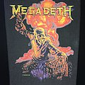 Megadeth - Patch - Megadeth - Nuclear Explosion - Back Patch 1987