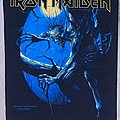 Iron Maiden - Patch - Iron Maiden - Fear of the Dark - Back Patch 1992 (Blue Version)