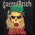 Sacred Reich - Patch - Sacred Reich - Violent Solutions - Back Patch 1990