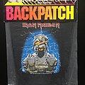 Iron Maiden - Patch - Iron Maiden - Powerslave - Back Patch 1984 (Mummy Version)