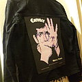 Coroner - Mental Vortex  - 1991 Drakkar Promotion - Razamatz - Back Patch on Jacket