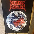Nuclear Assault - Patch - Nuclear Assault Handle With Care Back Patch