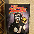 King Diamond - Patch - King Diamond Lavender Spraypaint BP