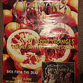 Obituary Back From The Dead Florida Oranges Promo Poster