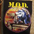 M.O.D. back patch