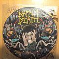Napalm Death - Tape / Vinyl / CD / Recording etc - Napalm Death FETO SIGNED PD 1988