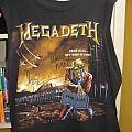Megadeth SIGNED Shirt + Pic