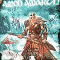 Signed Amon Amarth backpatch
