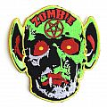 Rob Zombie Embroidered Skull Patch - 2018 Twins of Evil: The Second Coming Tour
