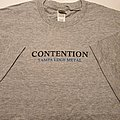 Contention - Tampa Edge Metal t-shirt