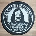 Deicide - Glen Benton For President! Patch