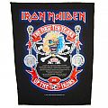IRON MAIDEN  - The First Ten Years / official backpatch