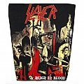 Slayer - Reign in Blood - vintage backpatch