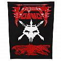 Voivod - Skull with blood - backpatch