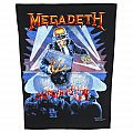 Megadeth - Berlin Wall - official backpatch
