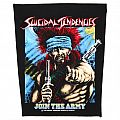 Suicidal Tendencies - Join the army - official backpatch