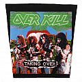 Overkill - Taking Over - vintage backpatch