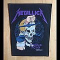 Metallica Damaged Justice 1988 Brockum Backpatch