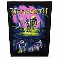 Megadeth - No more Mr. Nice Guy Backpatch