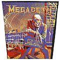Megadeth - Peace sells - vintage backpatch