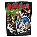 Destruction - Mad butcher - official backpatch