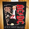 AC/DC - If you want blood Backpatch