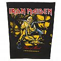 Iron Maiden - Piece Of Mind - official backpatch
