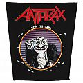 Anthrax - Now it´s dark - official backpatch