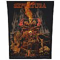 Sepultura - Arise - official backpatch