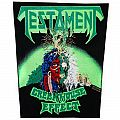 Testament - Greenhouse effect - official backpatch