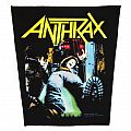 Anthrax - Spreading the disease - official backpatch