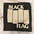 Black Flag back patch