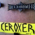 bolt thrower pin / badge