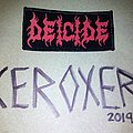 deicide logo Patch