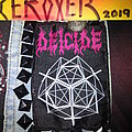 Deicide - Patch - DEICIDE overtures of blasphemy official woven patch
