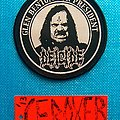 Deicide - Patch - deicide glen benton for... circular woven patch