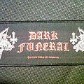 Patch - Dark funeral  strip patch