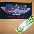 saxon power & the glory european tour 1983