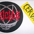 deicide legion embroidered patch