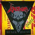 venom black metal backpatch