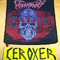 Patch - MONSTROSITY - crave the blood... Woven patch