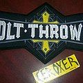 Bolt Thrower backpatch Embroidered