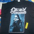 ozzy osbourne the last bloody shows t-shirt
