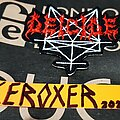 Deicide - Patch - DEICIDE legion embroidered shaped patch