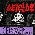 Deicide - Patch - DEICIDE once upon the cross embroidered patch